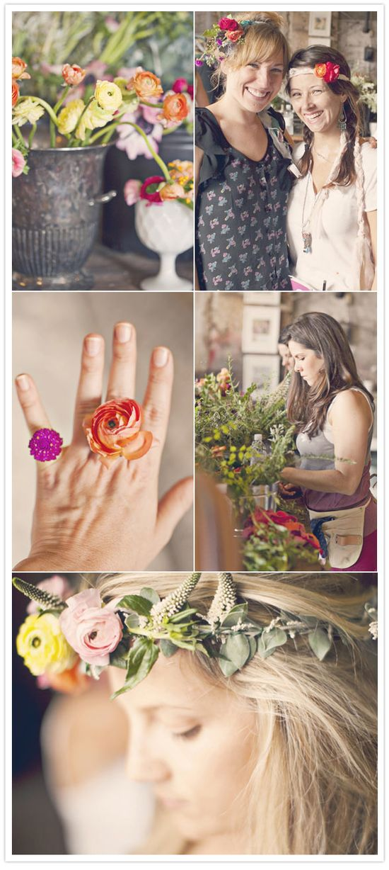 Indian Summer floral workshop