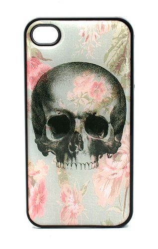 Unique Punk Skull-Style Hard Case for iPhone 4