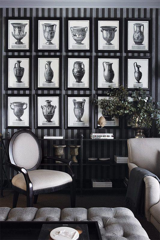 #black #white #b #living-room #interior #design #decor #furniture #furnish #home #house #room #space indigoss.com