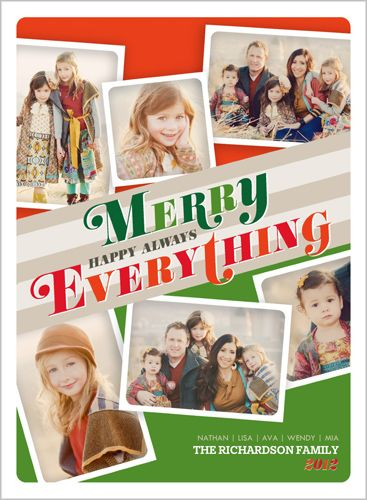 Happy Always Collage Christmas Card