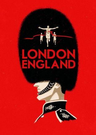 London, England, #travel, #poster, #London, #England