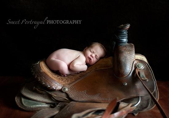 Newborn saddle