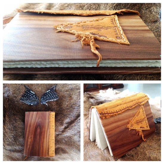 Hand made custom Lignum Vitae Exotic wood by thegypsiescaravan