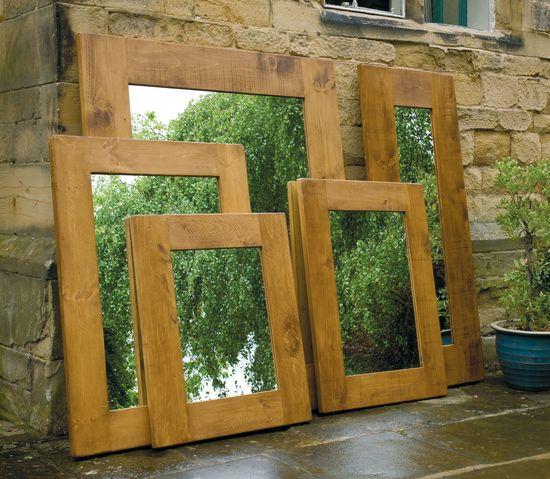 Plank Mirror