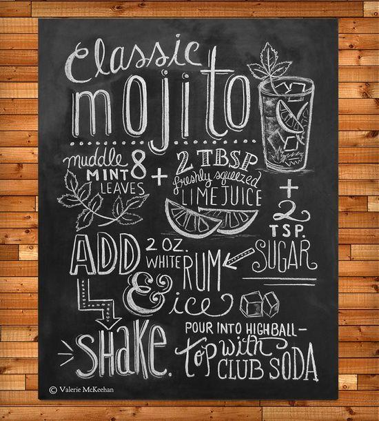 Mojito Recipe Print