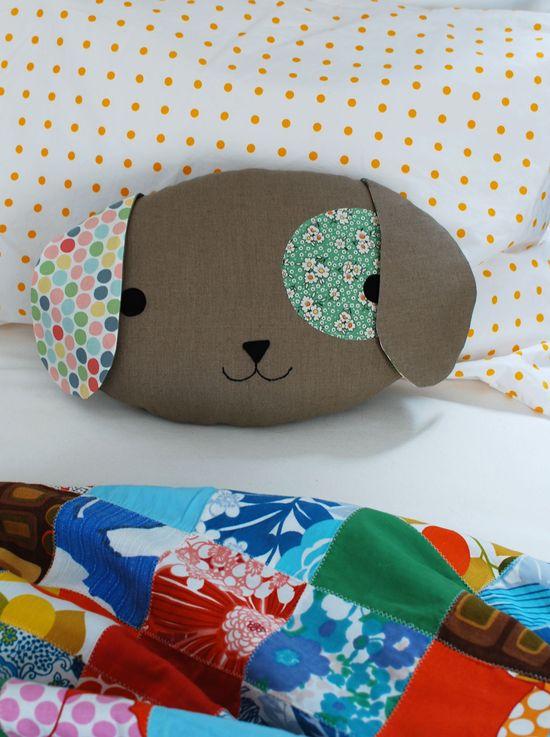 Sew a Cute Puppy Pillow Softie