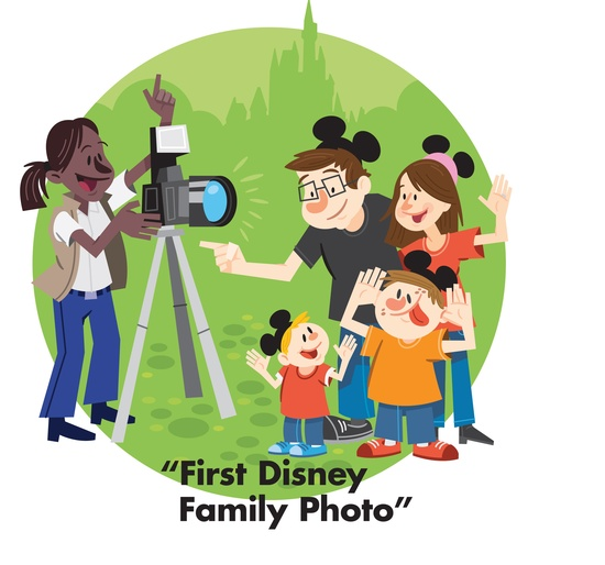 Tip: Use Disney PhotoPass Service whenever possible.  This way you will have photo proof that the entire family was on vacation. Click to learn more: di.sn/b7x  #DisneyMemories