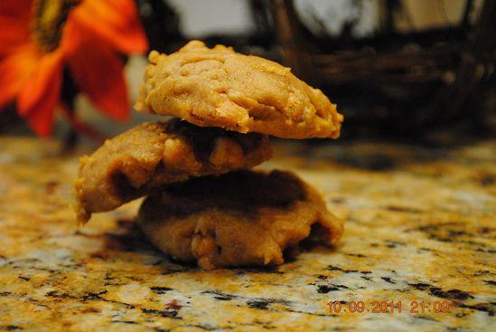 Yummy pumpkin spice cookie #recipe
