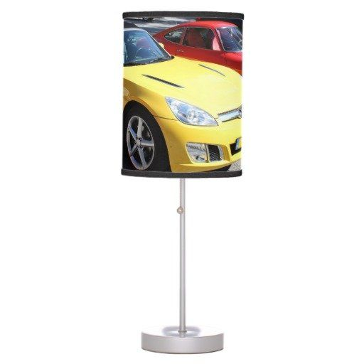Opel GT Classic Sports Cars Table Lamps