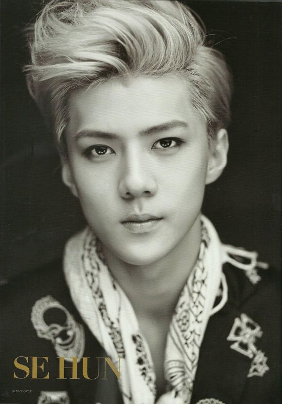 EXOdicted - EXO Fansite: [SCANS130831 EXO on Men's Style Magazine September Issue HQ - Sehun