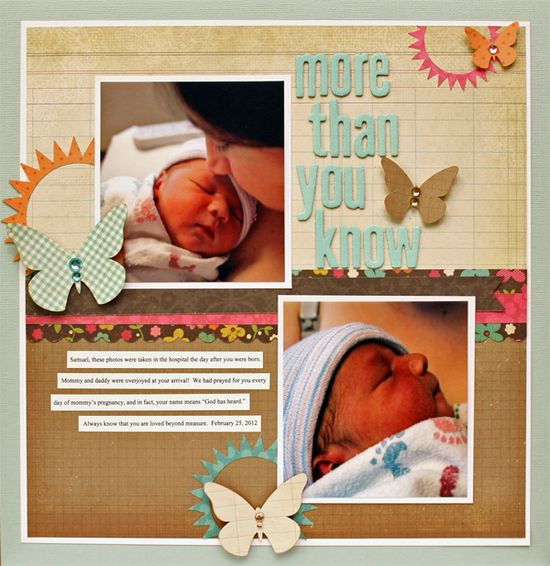 more than you know {Simple Stories} - Scrapbook.com
