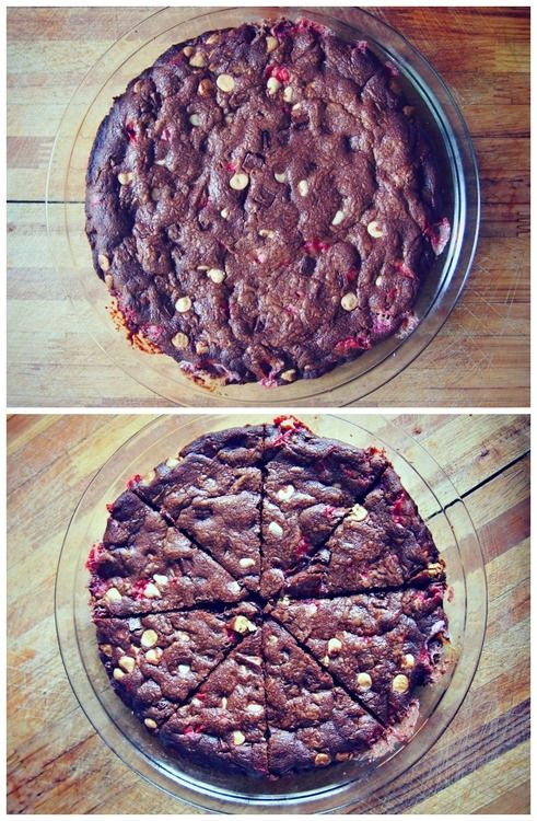 Peppermint Chocolate Cookie Cake.
