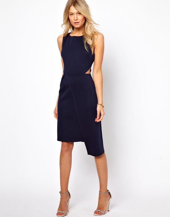 Love Midi Dress with Wrap Skirt