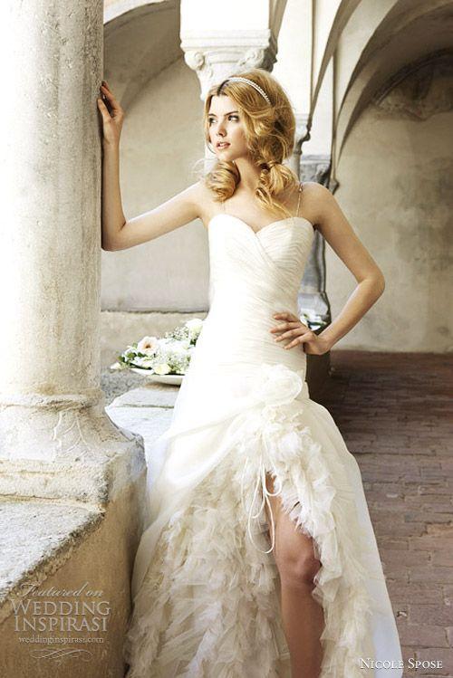 nicole sposa 2012 wedding dress
