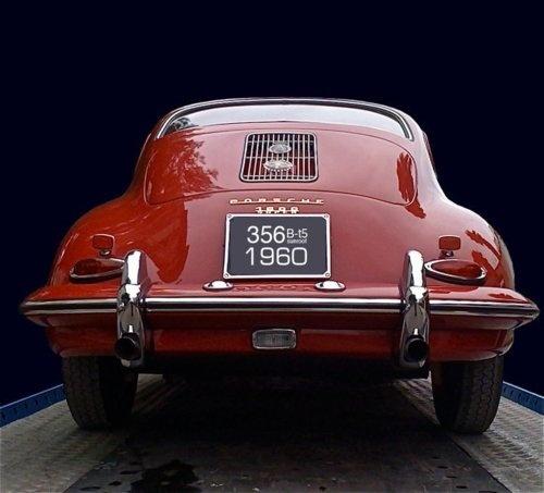 1960 Porsche 356 #red