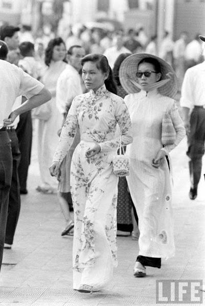 ao dai, saigon, vietnamese women, traditional