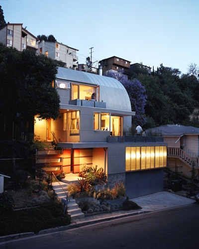 always wanted one of these...http:/... #modern #architecture #modernarchitecture #shapes #rounded #white #sculptural