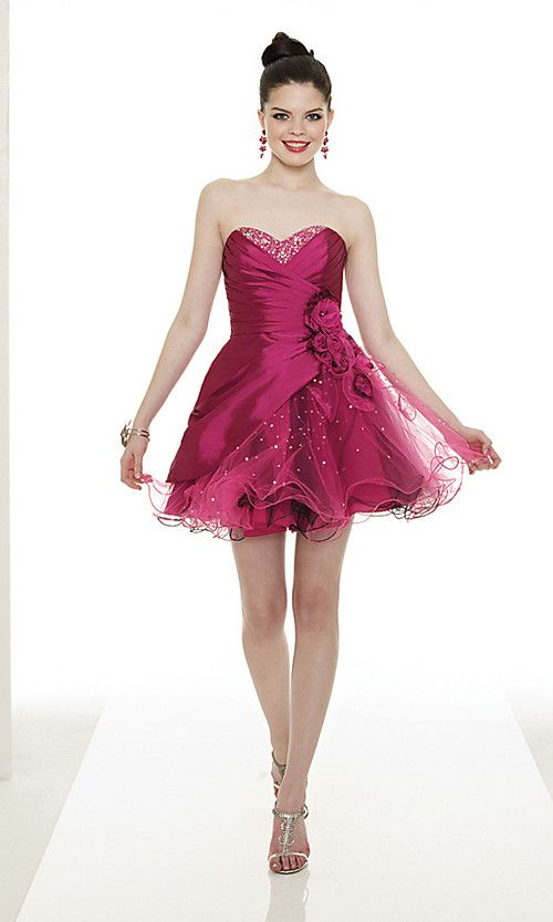 Buy Short Sweetheart Tulle Dress Online Dress Store At LuckyGowns.com