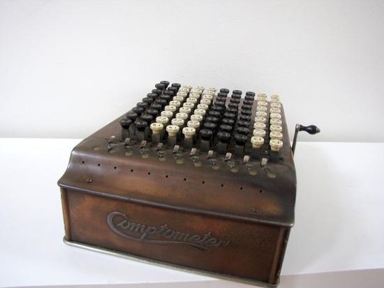 Máquina de calcular.
