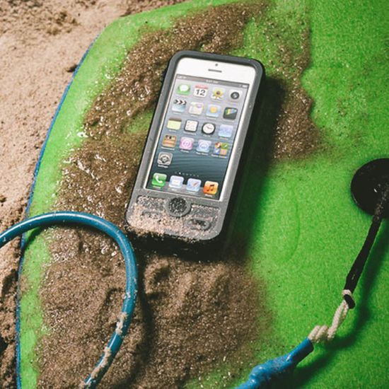 The first ever waterproof phone case with a built-in back-up battery