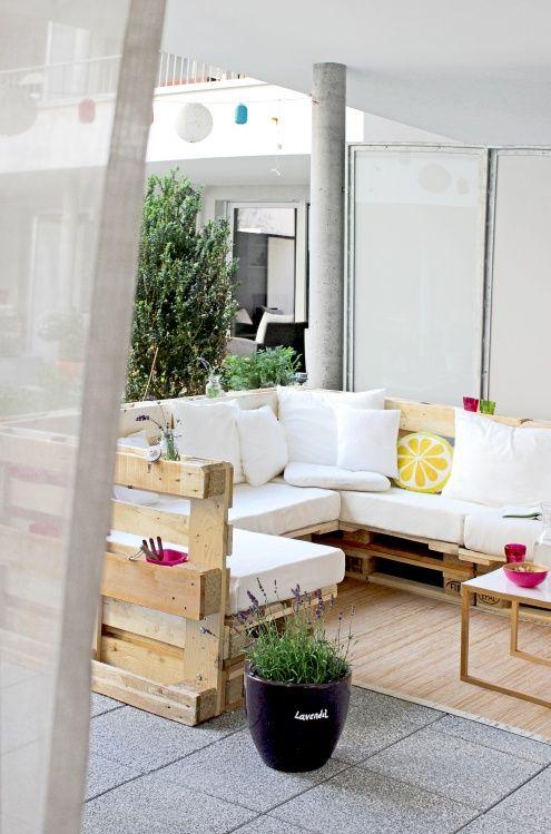 Мебели от палети за вашата веранда