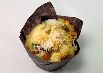 Tomato Basil Parmesan  - Savory Cupcakes from Food & Wine