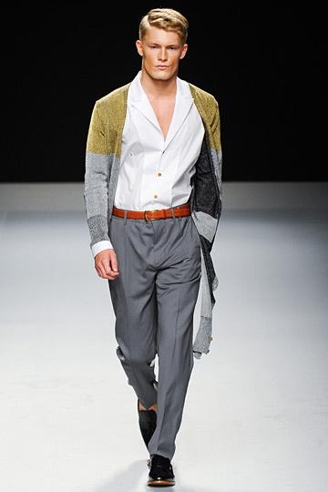 Vivienne Westwood Spring 2013 #Menswear