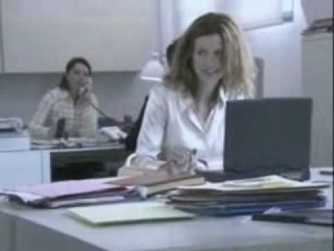 ? Office flirting - funny commercial - YouTube