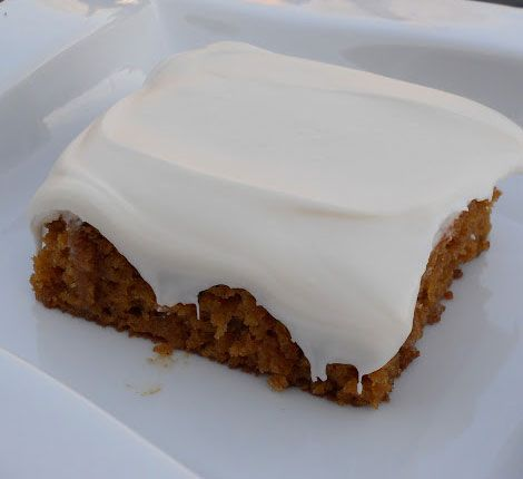 Pumpkin Sheet Cake - Click Pic for 18 Healthy Desserts Recipes
