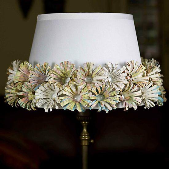 Great lamp shade idea from etsy