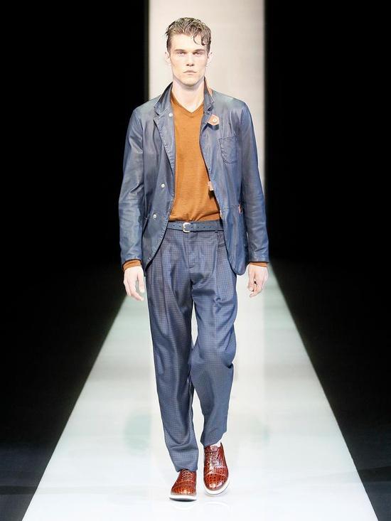 Giorgio Armani Menswear Collection for Spring/Summer 2013