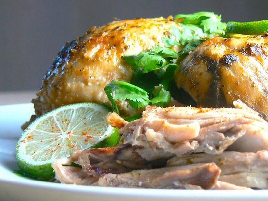 Chili Cilantro Lime Crock Pot Chicken  @PaleoPot .com