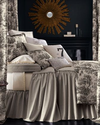 """""""Sydney"""" Bed Linens by Legacy Home at Neiman Marcus."""