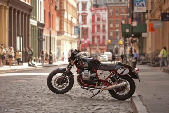 2013 Moto Guzzi V7 Racer ~ Return of the Cafe Racers