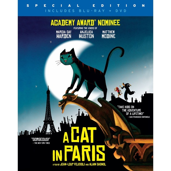Academy Nominated Animated Film - A Cat in Paris