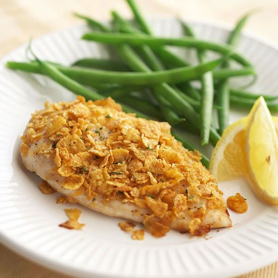 Honey-Ginger-Crusted Chicken