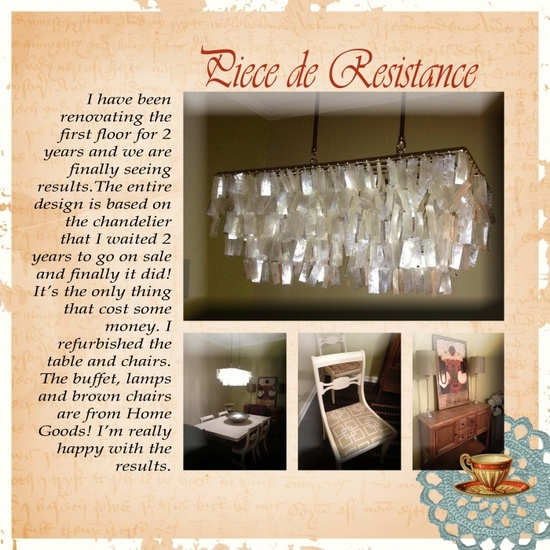 Ideas for Scrapbook Pages About the Rooms in Your Home
