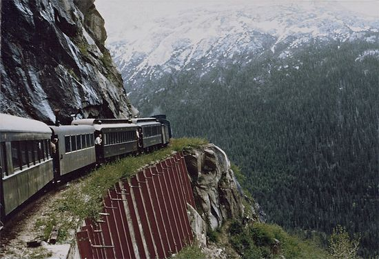 Train with scenic beauty...?