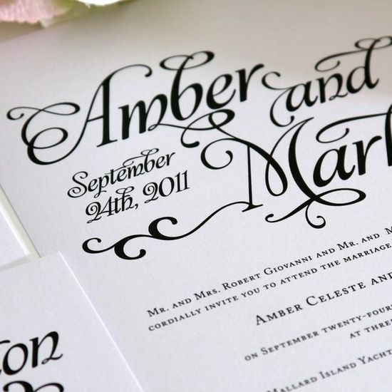 Beautiful invitations!