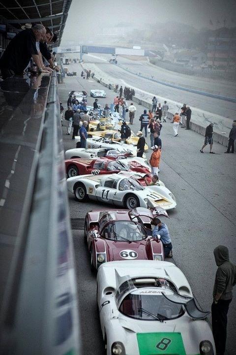 Porsche Rennsport Reunion IV on October 14-16, 2011 - Laguna Seca