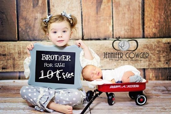 Jennifer C Photography Newborn with sibling