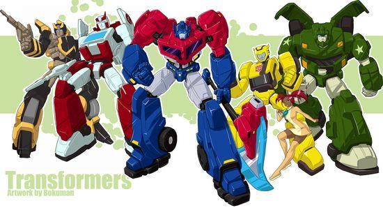Transformers Animated by bokuman.deviantar... on @deviantART