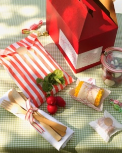 Summer picnic goodies