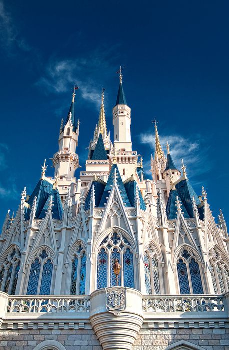 Side of Cinderella's Castle