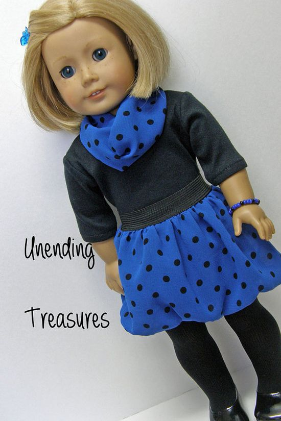 American Girl doll clothes 18 inch doll by Unendingtreasures, $20.00