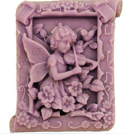 Fairy Soap Molds Silicone mold Handmade Soap Mold Biscuit Mold