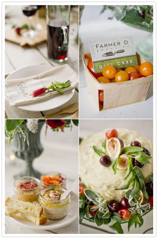farm-to-table party inspiration