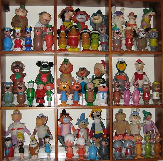 Hanna Barbera shelf 2