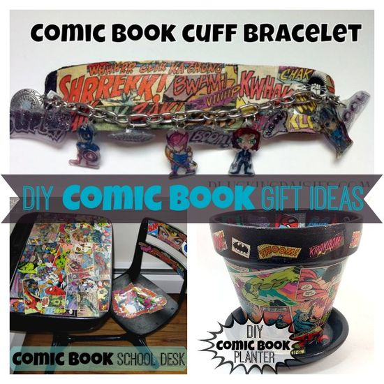DIY Gifts for Comic Book Lovers