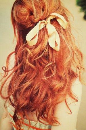 I wish I had red hair...